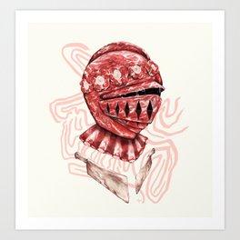 Self-Preservation Knight Art Print