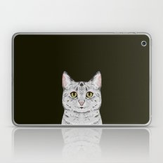 Cameron - Egyptian Mau Cat gift and phone case with cat or a gift for a cat lover and cat person Laptop & iPad Skin