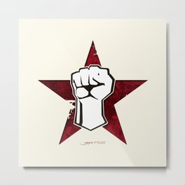 Rage Against The Machine Metal Print