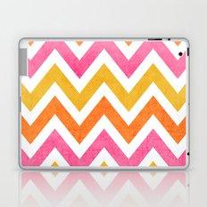 summer chevron Laptop & iPad Skin