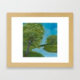 Peaceful Day Framed Art Print