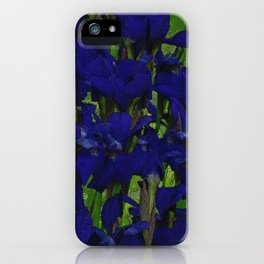 Tatum's Iris II iPhone Case