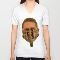 mad max V-neck T-shirts featuring Mad Max by Sten