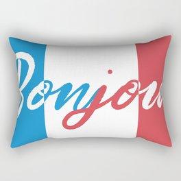 French morning Rectangular Pillow
