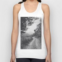 road Tank Tops featuring ROAD by Yigit C.