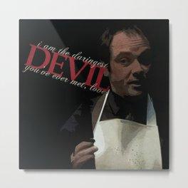 Daringest Devil Metal Print