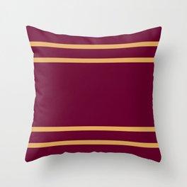 Gryffindor Stripes Throw Pillow