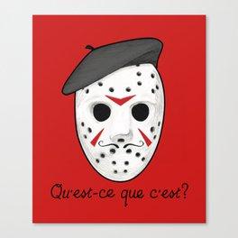 Psycho Killer Canvas Print