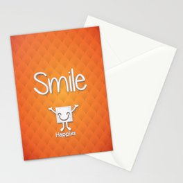 3D Smile Stationery Cards