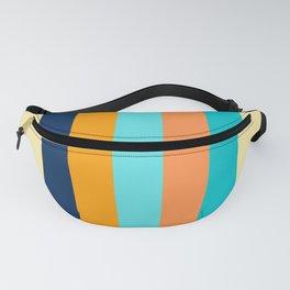 Retro stripes ShowerCurtain Fanny Pack