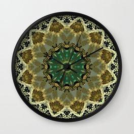 More Oriental QR Code Mandala Wall Clock