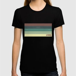 Retro Colorful Lines - Year 1992 T-shirt