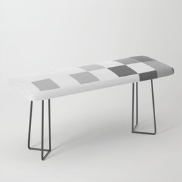 Gray Scale In Pixels Bench