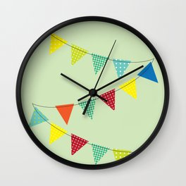 Hurray for boys! Wall Clock