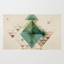 Abstract illustration Rug