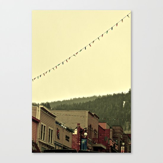 Stay for awhile Canvas Print