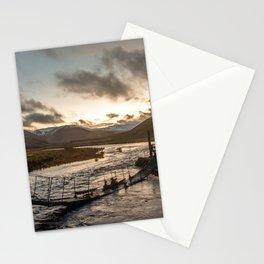 Broken Bridge Valley Dusk Stationery Cards