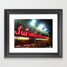 Juniors NYC Framed Art Print