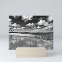 Arcachon reflections. Mini Art Print