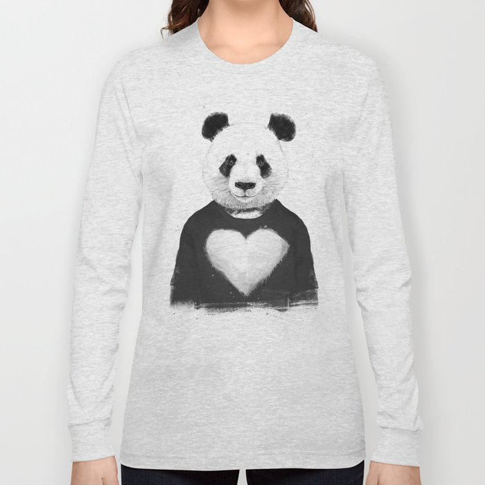Lovely panda Long Sleeve T-shirt