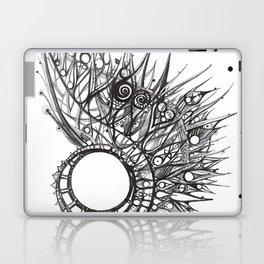 visual pattern of exotic lines Laptop & iPad Skin
