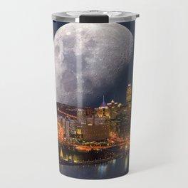 Spacey Pittsburgh Travel Mug