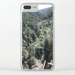 Mountain Splendor Clear iPhone Case