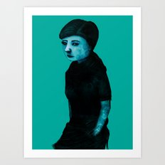Night Girl IV Art Print