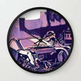 Scrapyard ~ Blade Runner 2049 Wall Clock