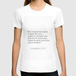 Jeremiah 29:11 Bible T-shirt