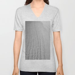 Water Shore (Black and White) Unisex V-Neck