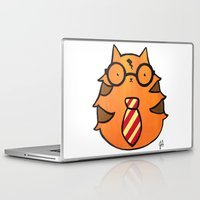potter Laptop & iPad Skins featuring Kitty Potter  by JessicaAndersonArt