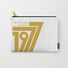 Awesome Since 1977 Carry-All Pouch