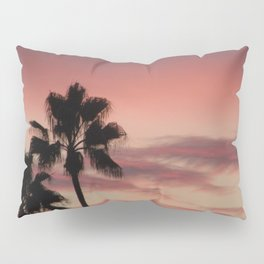 Atmospherics Number 3: Two Palms in the Sunset Pillow Sham