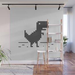 Google Chrome's Dino Wall Mural