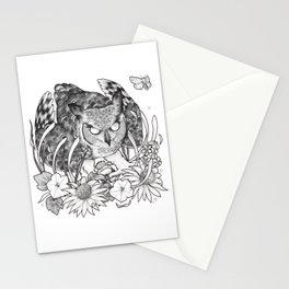 Nightblooms Stationery Cards