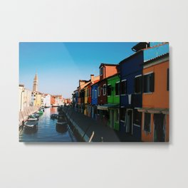 Venice Print Set, Venice Wall Art, Italy Photography Gallery Wall, Europe Wall Art, Europe Decor 5x5 Metal Print