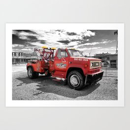 On the Route 66 | Seligman | Arizona (Usa) Art Print