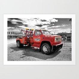 On the Route 66 | Seligman | Arizona (Usa) Art Print