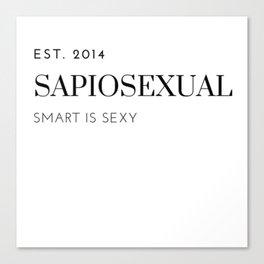 SapioSexual Canvas Print