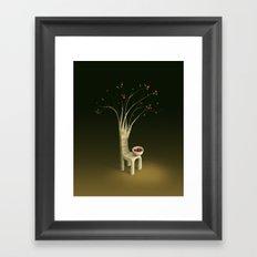Strawberry Guava Tree Framed Art Print