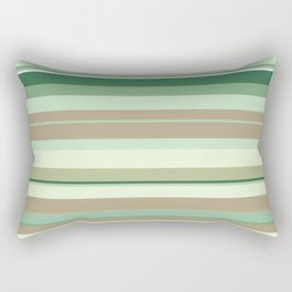 minimalistic horizontal stripes pattern tg Rectangular Pillow