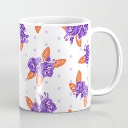 Floral clemson sports college football university varsity team alumni fan gifts Coffee Mug