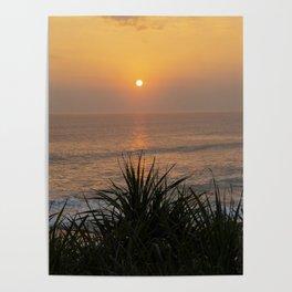 Sunset Bali Poster