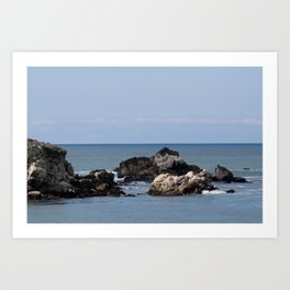 The Whaler's Cove (Point Lobos) Art Print