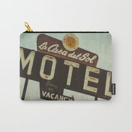 La Casa Del Sol Vintage Motel Sign Carry-All Pouch