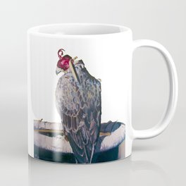 Gyrfalcon - falcon painting Coffee Mug