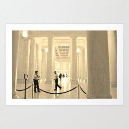 United States Supreme Court Art Print