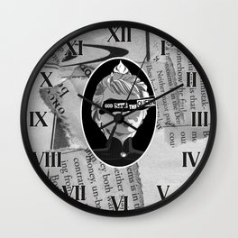 God save the Ice Queen Wall Clock