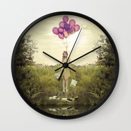 """Duck Duck Noose"" from the Bittersweet series by Kelly Is Nice Photography Wall Clock"